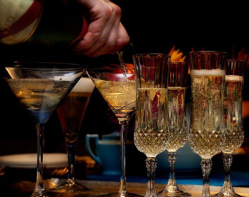 Champagneglazen 2